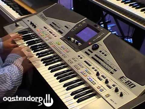 Roland E80 keyboard bij Muziekcentrum Oostendorp