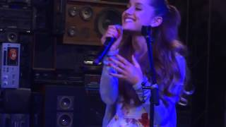 "Ariana Grande Forgets Lyrics to ""Right There"" LIVE On Stage! Funny!"