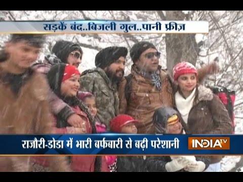 Jammu-Srinagar Highway Closed Due to Heavy Snowfall