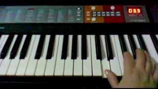 Полонез Огинского на синтезаторе (кавер)