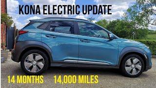 Hyundai Kona Electric - 14 months & 14,000 miles update