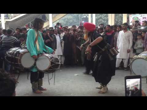 Pakistani sufi dancer and musician