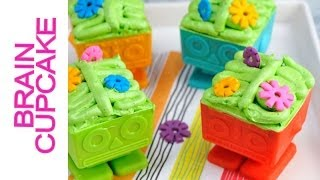 ROBOT BRAIN CUPCAKES WITH GEARS TUTORIAL