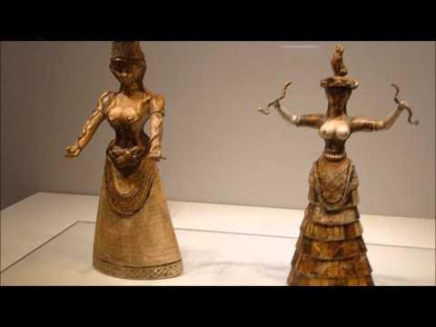 Crete. The Heraklion Archaeological Museum 2015