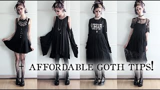 4 GOTH OUTFITS BELOW €50