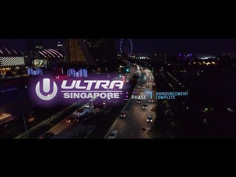 Ultra Singapore - Phase 1 Lineup