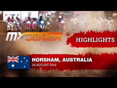 Highlights - Practice - Junior Motocross World Championship - Australia 2018 #Motocross
