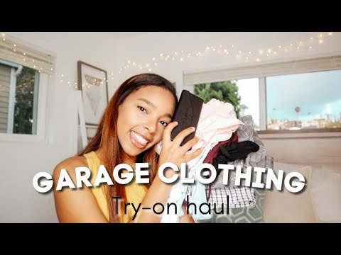 Garage Clothing Haul + Try-On (Spring 2020)