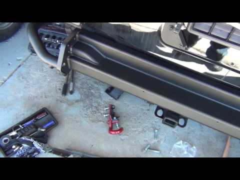 Jeep Rear Bumper AEV Part 3