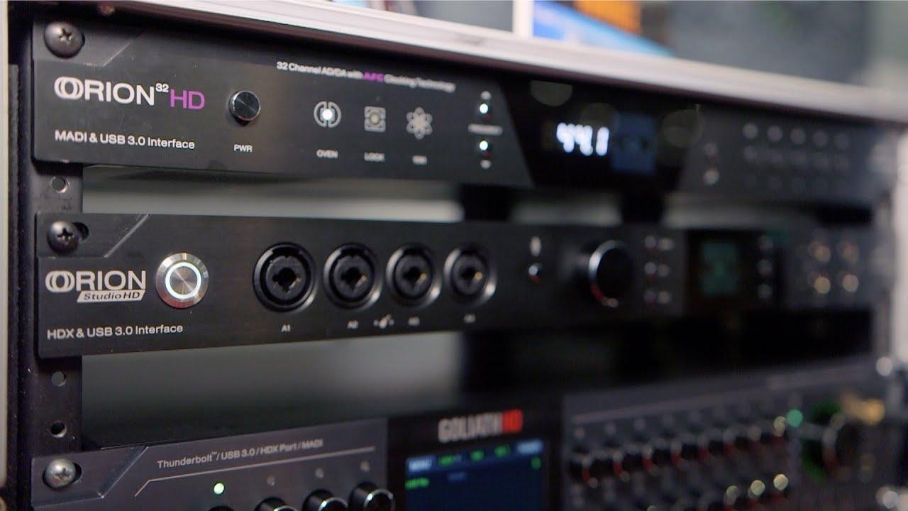 Antelope Audio Orion Studio HD - Summer NAMM 2017 - YouTube