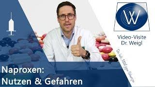 Schmerzmittel Naproxen: Dosierung, Wirkung & Nebenwirkungen - Unterschiede zu Ibuprofen