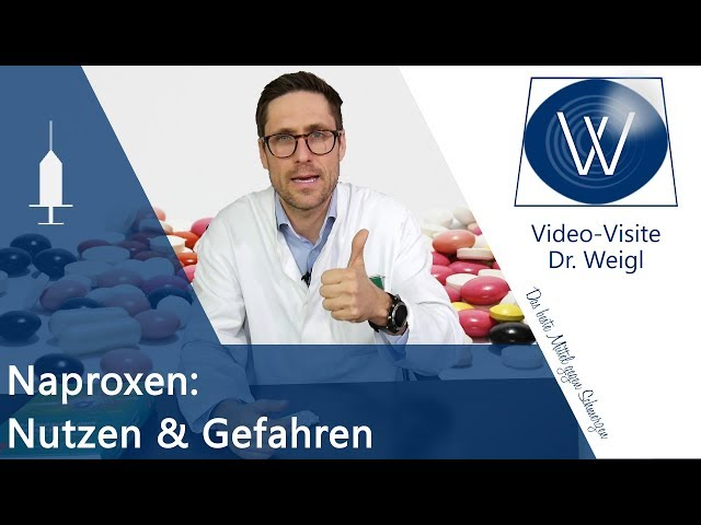 🔴Schmerzmittel Naproxen: Wirkung & Nebenwirkungen - Unterschied zu Ibuprofen