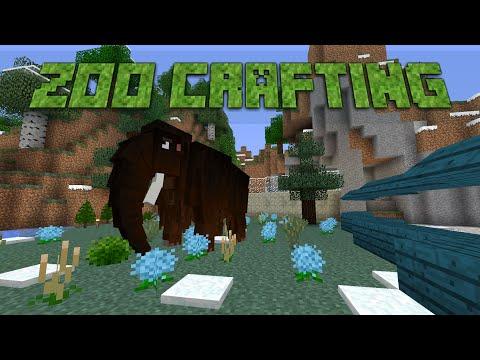 ZooCrafting - Episode 9 - Mammoth Exhibit!!!