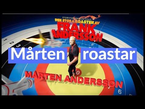 Mårten Andersson i Den stora roasten av Frank Andersson 4