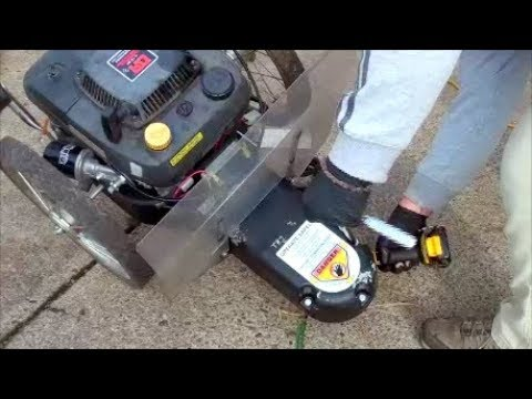 HOW TO Replace the BELT : DR TRIMMER BRUSH Cutter Walk behind model TR1  Country Home Products