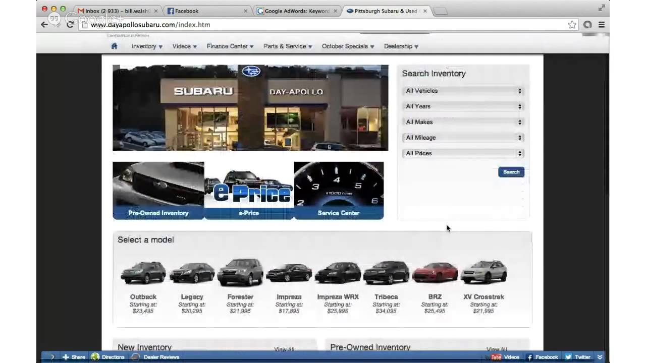 Subaru Dealers Pittsburgh >> Best Subaru Dealer In Pittsburgh Pa Day Apollo Subaru Best