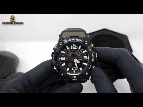 Unboxing G-Shock Carbon Fiber GG-B100 Mudmaster With Quad Sensor Bluetooth