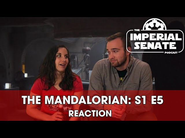 The Mandalorian: Episode Five (REACTION) S1E5