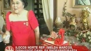 UB: Rep. Imelda Marcos, dismayado dahil sa pagpapasubasta ng PCGG sa kanilang mga ari-arian