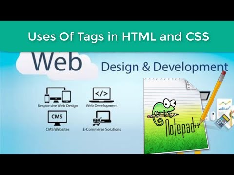 HTML and CSS  Bangla Tutorial class-1 || Uses of tags in HTML and CSS thumbnail