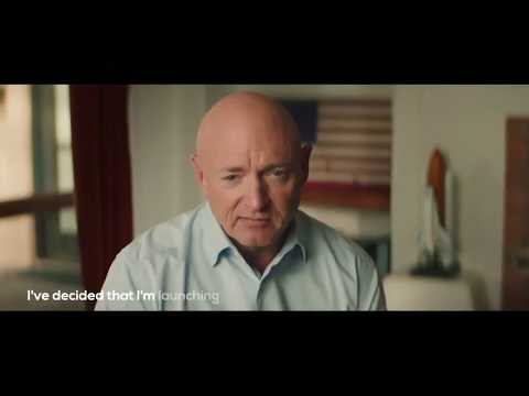 Nasa's Mark Kelly launches US Senate bid