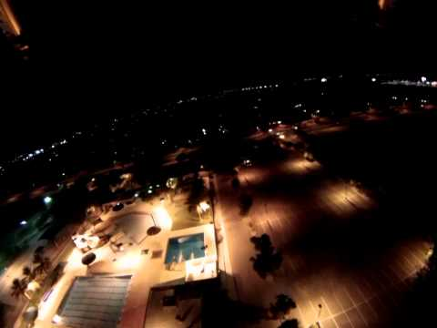 UAV night flight
