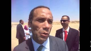 قناة السويس الجديدة : رئيس المصرىة للاتصالات فى قناة السويس الجديدة لنقل خطوط الاتصالات