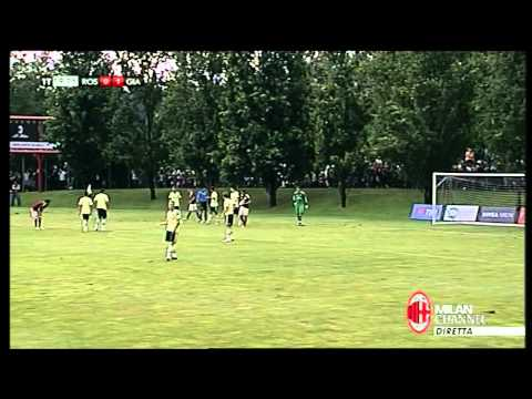 Pazzini Goal - Yellow team vs Red&Black team