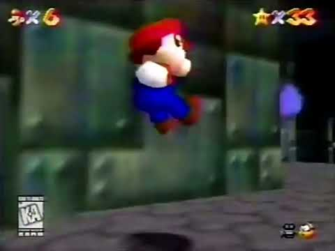 Super Mario 64 Commercial - 1996