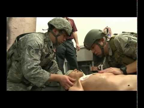 Airmen Learn How to Save Lives