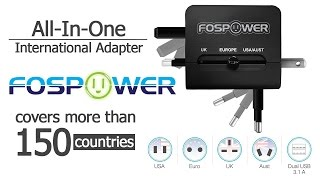 All-In-One International Power Adapter by FosPower