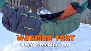 Warm Feet when Camping Out in Winter