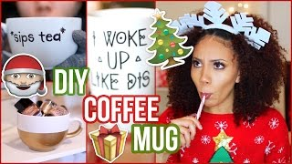 Diy Quoted Coffee Mug | Last Minute Gift