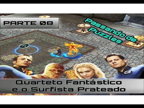 Quarteto Fantastico E O Surfista Prateado Detonado Parte 08