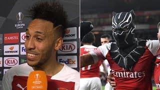 """Black Panther represents me!"" - Aubameyang explains goal celebration vs Rennes"