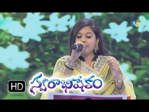 Gaali Chirugaali Song - Sumangali Performance in ETV Swarabhishekam 25th Oct 2015