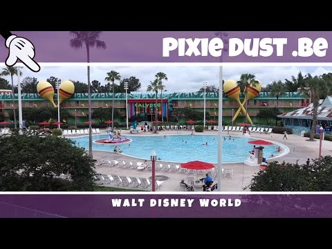 Tour of Disneys All Star Music Resort + Standard Room   Walt Disney World 2017
