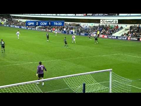 Wonderful Assist Adel Taarabt Goal Routledge QPR 2-1 Conventry