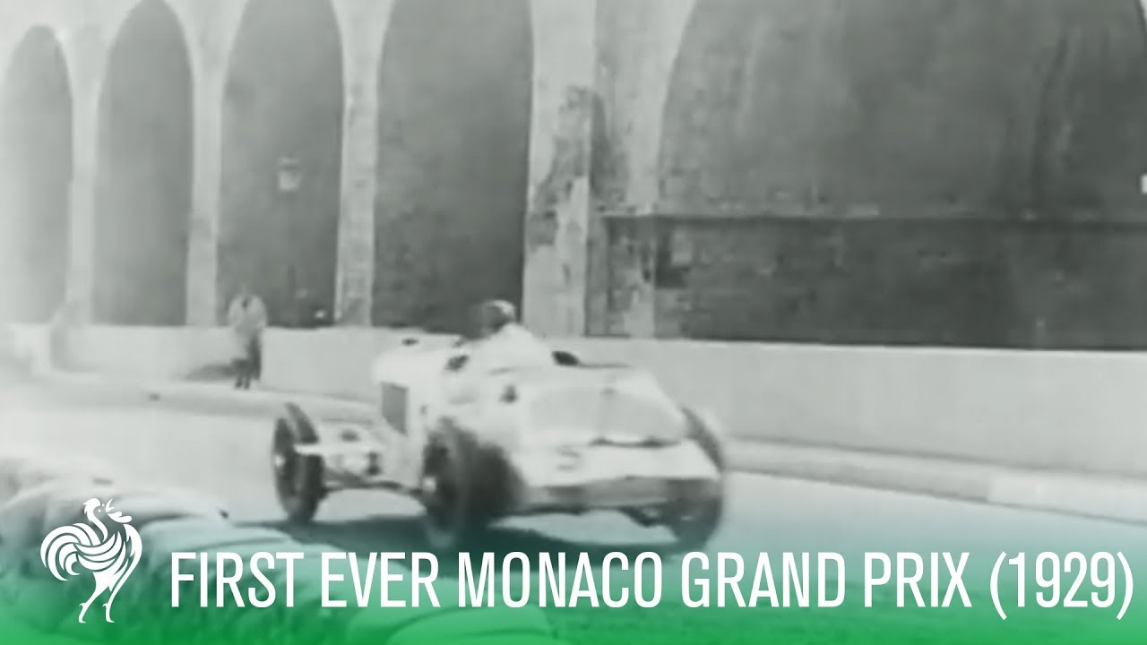 Race Footage: First Ever Monaco Grand Prix (1929 ...