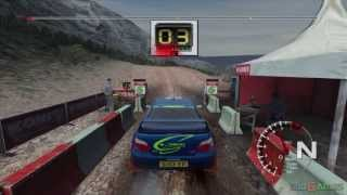 Colin McRae Rally 04 - Gameplay Xbox HD 720P