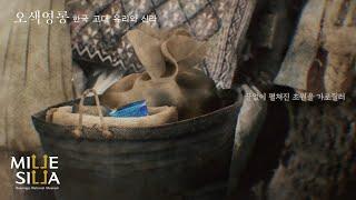 [특별전] 이토록 이국적인 푸른빛의 '천마총 유…