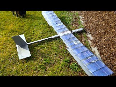 Solar RC Plane Episode 2 - RCTESTFLIGHT -