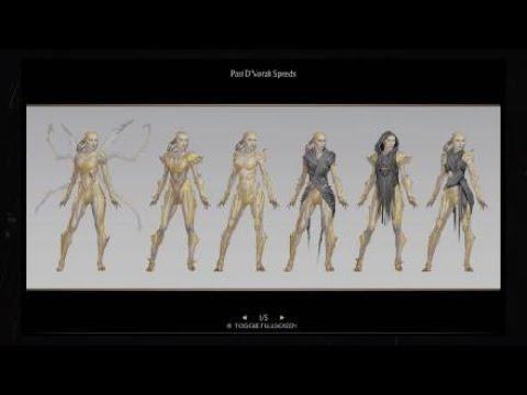 Mortal Kombat 11 D Vorah Concept Art Youtube