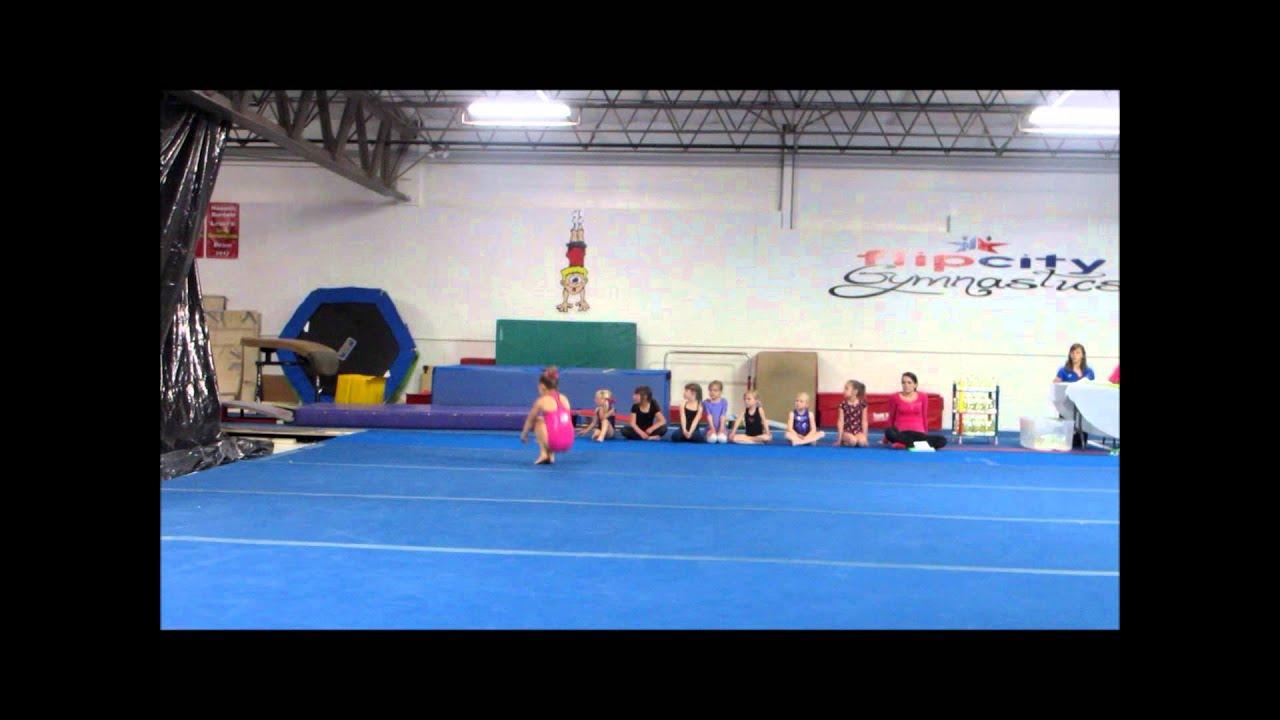 lucky gymnastics meet