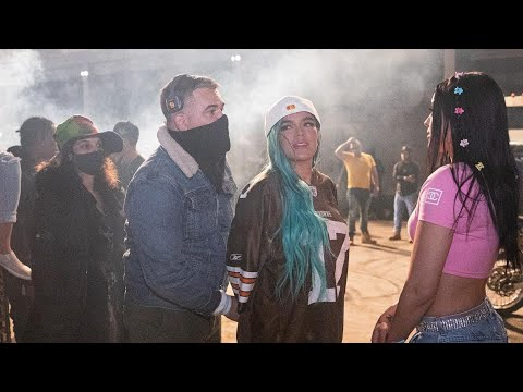 "Detrás de camara ""EL MAKINON"" Karol G, Mariah Angeliq"