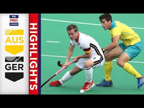Australia V Germany | Week 4 | Men's FIH Pro League Highlights