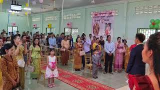 캄보디아 크리스천 부부 결혼식1 [이소망 선교사]
