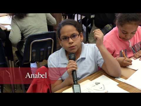 Students from the Christopher Barron Live Life Foundation Program discuss their experiences creating comics with artists and writers, and how it has inspired them.