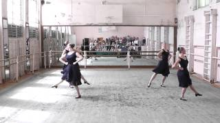 ГОСэкзамен по народному танцу.вращения.