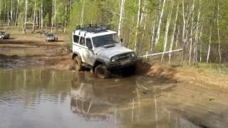 УАЗ 4х4 танковое бездорожье. Offroad UAZ(Грязь вперемешку с водой самое то для УАЗа., 2016-05-30T09:20:34.000Z)